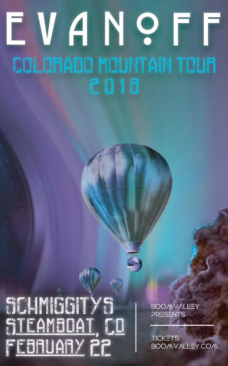 Evanoff Concert Poster
