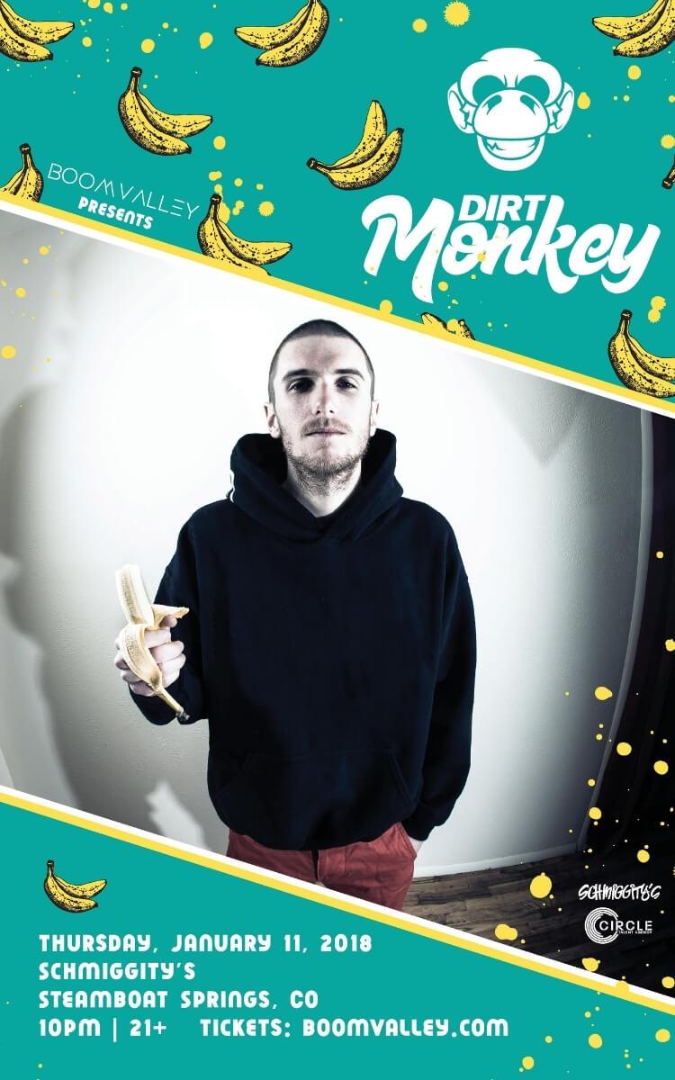 Dirt Monkey Concert Poster
