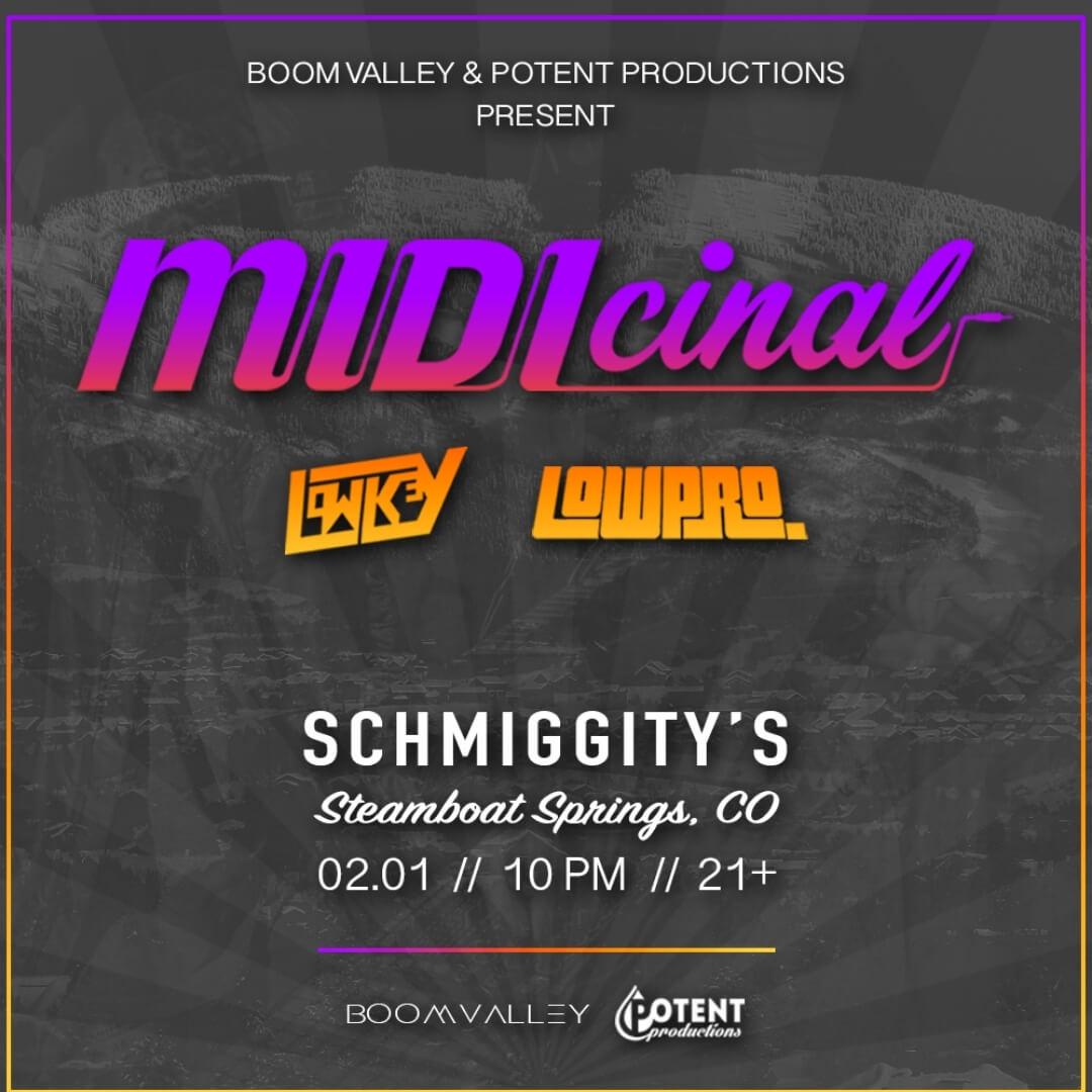 MIDIcinal-Concert-Poster