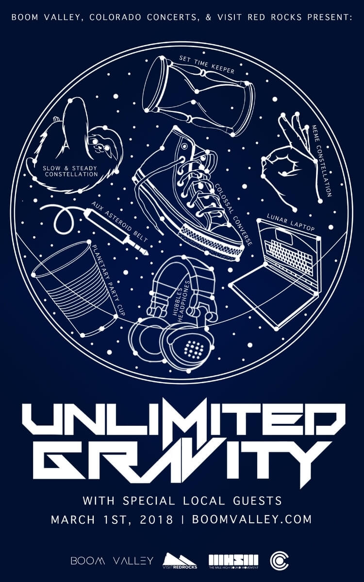 Unlimited Gravity Concert Poster